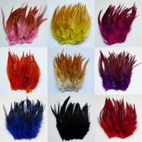 100pcs DIY decorative feathers 12-16CM 12COLORS  Christmas decoration wedding party home decoration