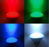 Hot saleAC12V 40Watts RGB PAR56 High Power LED Swimming Pool Light Underwater light free shipping
