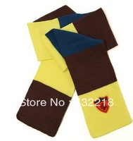 Free shipping WJ12 The new children's winter knitted scarf mixed colors Scarf paragraph badge