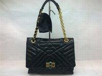 Happy Shoulder Bag in Black Brown 6038 Free Shipping