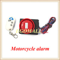 Hot sale!Vibration Detector Sensor anti-theft Alarm for motorcycle and Electric motor car with wireless remote H201