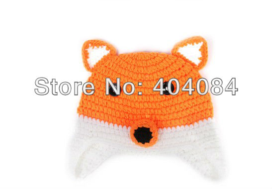 Новый ручной работы крючком baby fox