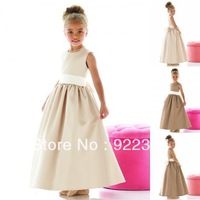 Lovely first communion dress Flower Girl Dresses A Line girls pageant dresses