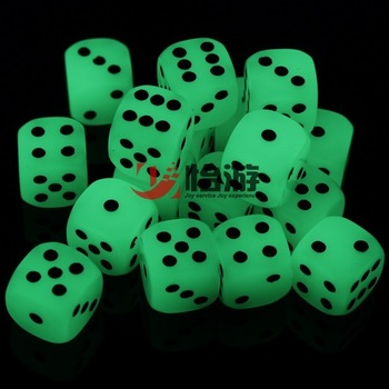 Table luminous dice bosons boulimia