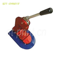 Making round/circle button, square button and oval button,badge/button making machine
