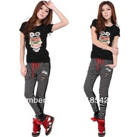 Free shipping Lady's sweatpants  clothing free size loose pants for women FDFZ-1302