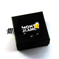 Mont wanbao earrings stud earring pendant necklace bracelet anklets cufflinks watch tie packaging gift box