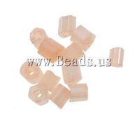 Free shipping!!!Ceylon Glass Seed Beads,Jewelry Fashion, Tube, ceylon, light pink, 2x2mm, Hole:Approx 1mm, 30000PCs/Bag