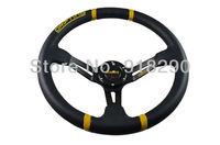 "14"" PVC Racing Steering Wheel MOMO Drifting Steering Wheel MOMO Steering Wheel PVC"