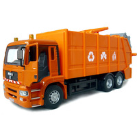 Alloy car toy car alloy car models clean car large garbage truck car model