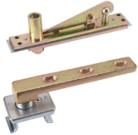 Gmt door hinge glass door lock aluminum alloy door lock shaft hinge 7a