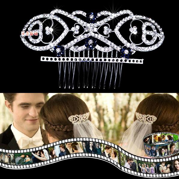Bride insert comb hair accessory fashion bride comb hair accessory marriage accessories hair accessory