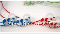 Free Shipping 10pcs+ cartoon panda in-Earphone Headphone Headset for iphone/samsung/ipod mp3/mp4 phone