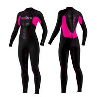 3MM women lady  snorkeling wetsuit diving suit neoprene swimsuit wear warm clothing