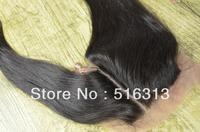 hotsale 100% virgin brazilian hair  lace closure bleached knots silk top closure clear side part pretty  1b color Density 120%