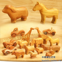 Rosewood handmade wooden animal waldorf toys small Large 4 95