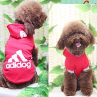 2 dog clothes pet clothes breathable sweatshirt teddy clothes dog clothes summer