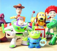 Free shipping & wholesale NewArrivalFashionLots 8 Mini Toy Story 3 Buzz Lighter Woody Jessie Figures Dinosaur Lotso Dot Set