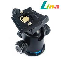 360 Degree Tripod Ball Head Camera Damping Quick Release Plate Ballhead