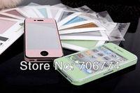 Luxury design Bling Glitter sticker Full Body style for iphone 5 30pcs/lot free shipping