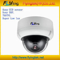 "1/3"" Panasonic  Super low lux CCD Color 750TVL  IR CCTV Color Security Camera,vandal-proof case"
