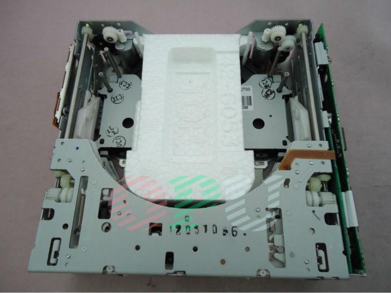 Fujitsu dez 6 discos CD changer mecanismo motor dois -se no rádio do carro sistema de som do sintonizador Lexus Cadillac Ford Suzuki Subaru(China (Mainland))