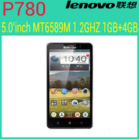 In Stock Lenovo  P780 MTK6577 Dual Core 4.5 inch Android 4.1 IPS Mobile Phone 1GB/4GB Russian 4000mAh Freeshipping/Sophia