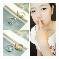 Min.order is $10 (mix order) Cheaper jewelry wholesale and retail fashion style LOVE words letters ring Y010