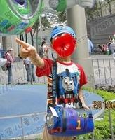 Thomas thoma child bag messenger bag school bag cartoon bucket bag