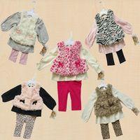 free shipping !children's female child clothing set rose velvet piece set infant