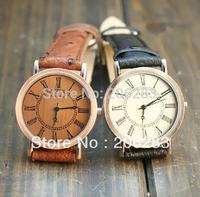 Fashion RetroStyle watch Genuine Leather watch men watch