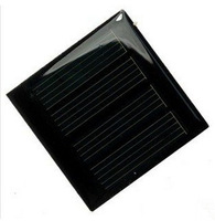 10pcs Solar Cell Panel Module 2V 150mA 0.3W 55''55''3.6mm Solar battery