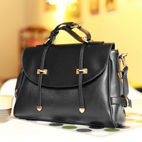 2013 winter vintage double arrow briefcase portable women's handbag one shoulder bag