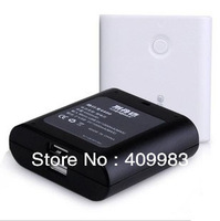 free shipping 4400mah mobile power bank portable external charger for iphone ipad samsung nokia psp mp3 mp4 nokia htc