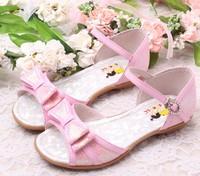 SoKoll Brand Flat Heel Kids Girls Party Dress Shoes Free Shipping