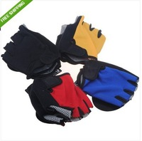 FREE SHIPPING Bicycle Cycling Bike Half Finger Gloves GEL Sillcone Size M -XL