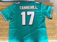 Cheap Discount American Foobtall Jerseys #17 Ryan Tannehill  jersey Greey Elite Home  Free Shipping Miami Jersey $15