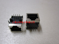 Short design rj45 socket 8 8p ethernet cable socket network interface zone function