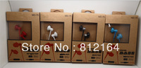 NEW MINI In-Ear earphones Headphones with retail box,super bass earbuds earphone with control talk for iphone.htc samsung