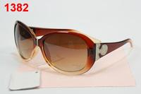 Women's gradient summer glasses girls 2013 driving mirror reflective sunglasses anti-uv sun glasses  come with box free shipping