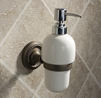 Free shipping Copper liquid soap dispenser with hand sanitizer bottle lotion dispenser bathroom soap dispenser