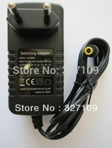 12V 2A AC DC Power Supply Adapter Wall Charger Replace For Toshiba SD-P91SKY Portable DVD ADPV16A EU UK US AU Plug(China (Mainland))