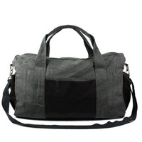 Large Capacity Travel Bag Canvas Sports Bag One Shoulder Bag Luggage Free Shipping