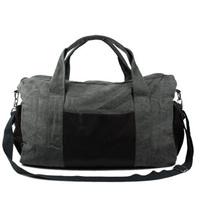 Large Capacity Travel Bag Canvas Sports Bag One Shoulder Bag Luggage Free Shipping