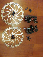 free shipping novich nv5 MTB disc brakes,similar model of AVID BB5,calipers+disc rotors(NO logo-G3 model)