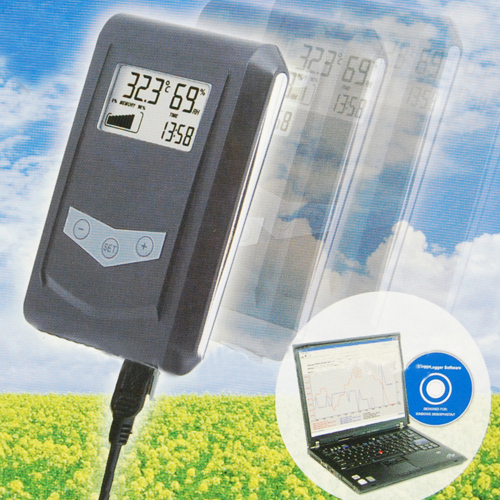 USB LCD Display Temp Logger Humidity Data Logger Acquisition System Thermometer dataloggers KG100 Free Shipping(China (Mainland))