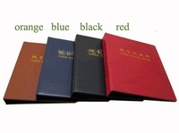 notes paper money album volume collection book holder stock book with replacement sheets wholesale/retail