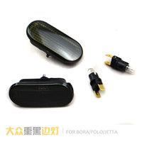 Free shipping, Vw black small side lights vw polo jetta bora general light show wide black