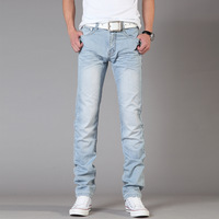 Free Shipping Leisure&Casual pants 2013 New Newly Style TOP brand cotton Men's Jeans Trousers Straight Leg size:28~36  69Y212