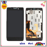 Black Glass Touch Digitizer Screen+LCD Display Digitizer Frame Assembly Replacement For Motorola Droid RAZR HD XT925 XT926